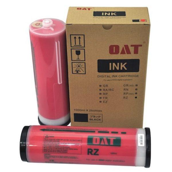 красная 600x600 - Краска RISO RZ/EZ/MZ красная (1000ml), с чипом, OAT