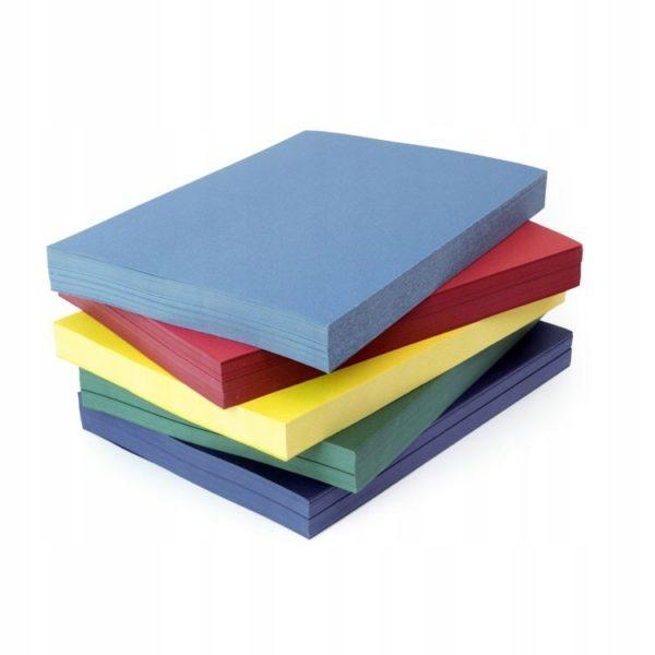 1 600x600 - Обложки для переплета картонные, текстура: кожа, А4, красный