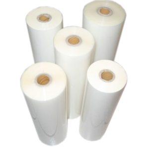 rulonnaya plemka 300x300 - Пленка для двухстороннего ламинирования, глянцевая, 30 мкм, ширина 305, длина намотки 300, диаметр втулки 1