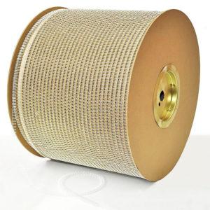 "300x300 - Пружины метал.;14,3 мм(9/16""), 120 л., 19 300 петель, белый , шаг 3:1"