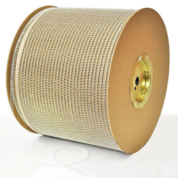 "600x600 - Пружины метал.;14,3 мм(9/16""), 120 л., 19 300 петель, белый , шаг 3:1"