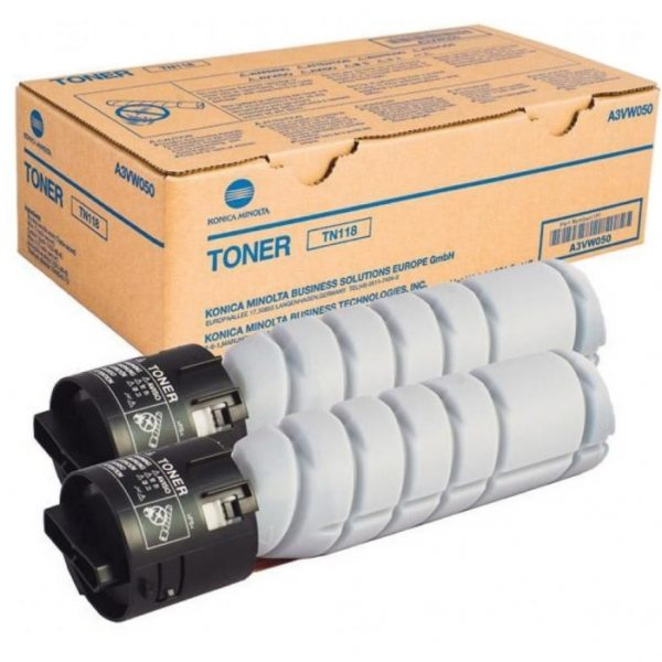 118 600x600 - Тонер TN-118 (black), черный, ресурс 12 000 стр. (A3VW050) Konica Minolta bizhub 226