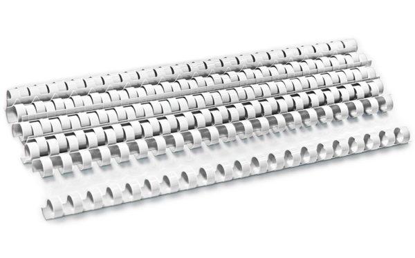 32222 600x374 - Пружина пластиковая для переплета d 8 мм, белая