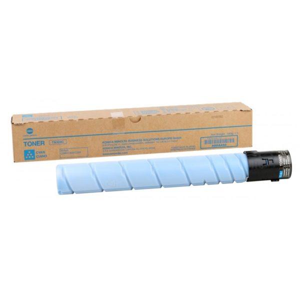324 4 600x600 - Тонер TN-324C (cyan), синий, ресурс 26 000 стр. (A8DA450) Konica Minolta bizhub C258