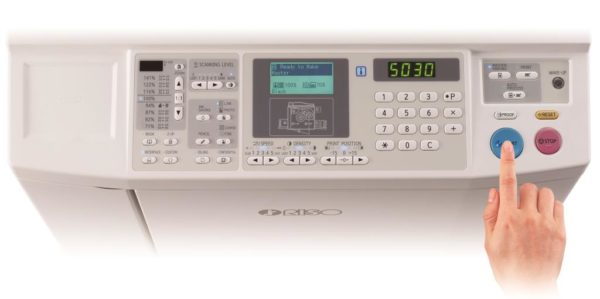 5030 panel 600x299 - Ризограф RISO SF 5030, А4