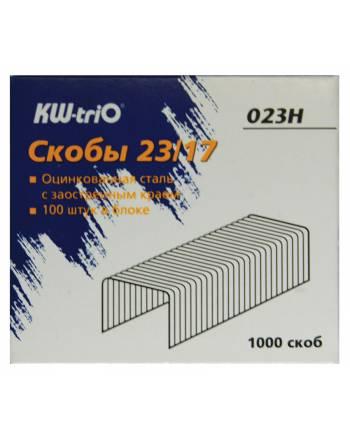 812048 v01 m - Скобы для степлера 23/17 KW-triO