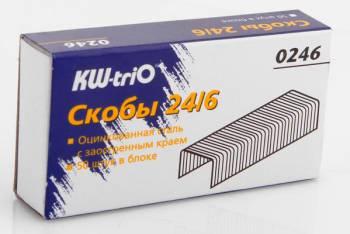 812051 v01 m - Скобы для степлера 24/6 KW-triO