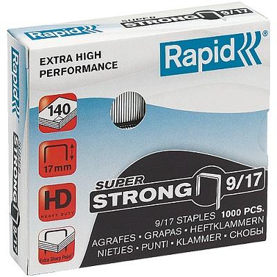 917 - Скобы Rapid 9/17 STRONG (1000 шт.)