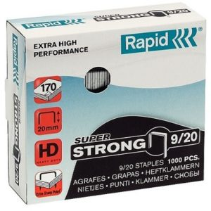 920 300x300 - Скобы Rapid 9/20 STRONG (1000 шт.)