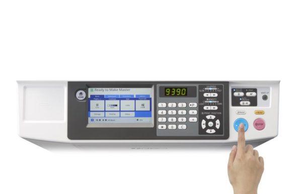 SF9390 operation panel 600x386 - Ризограф RISO SF 9390, А3