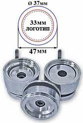 nasadka vektor sdhp n3 37 - Насадка сменная 37 мм к SDHP-N3 -инструмент к прессу для изготовления значков
