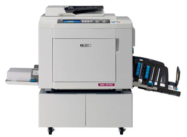 riso mf9350 2 600x439 - Ризограф RISO MF 9350, А3