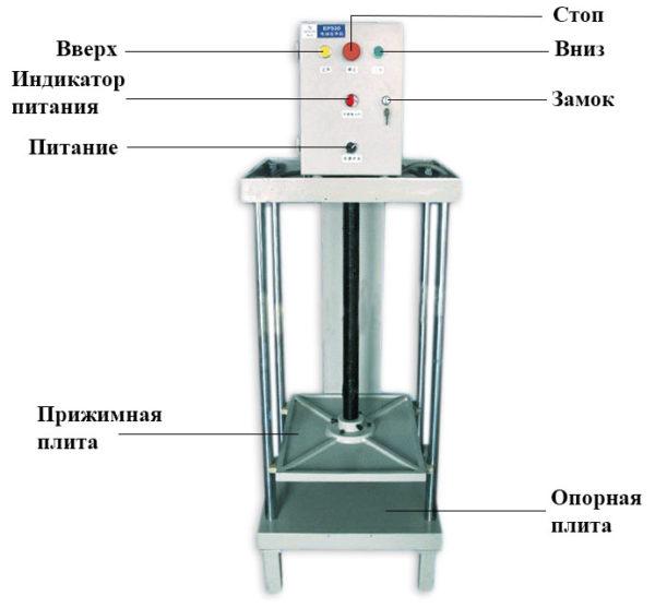 vektor ep530 600x557 - Обжимной пресс Vektor EP 530 электрический