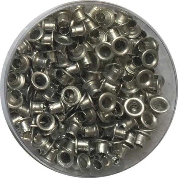 2544136 600x600 - Люверсы / Колечки Piccolo (серебро) для KW-trio 9717 (Shark R013, Eyelet), 4.8 мм, 250 шт