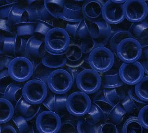 9120795cc16953ee7196f8afaadeb5f8 - Люверсы / Колечки Piccolo (синий), 5.5 мм, 1000 +/-10% шт