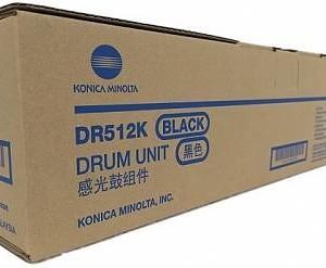 km dr 512k 1 300x247 - Фотобарабан DR-512K черный (A2XN0RD) Konica Minolta bizhub C224