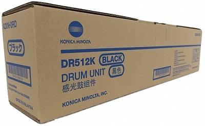 km dr 512k 1 - Фотобарабан DR-512K черный (A2XN0RD) Konica Minolta bizhub C224