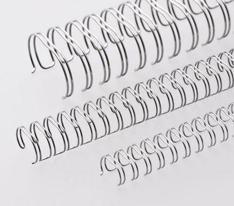 u files store 1 194570 - Пружины металлические, А4, 12,7мм (1/2), серебро, 100 шт. в упаковке