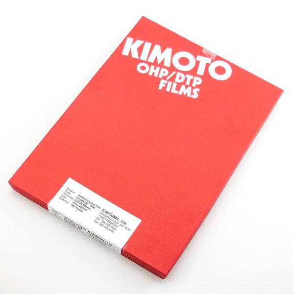 grm polimer plenka mat kimoto 600x600 - Пленка KIMOTO A4 Kimolec WM PF-90S 100 листов, матовая