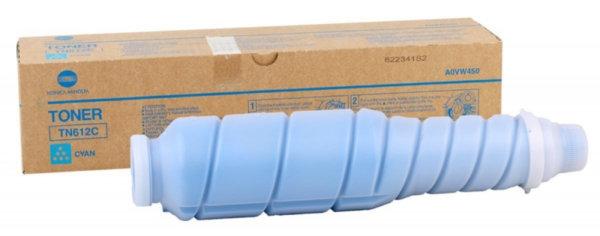 konica minolta toner tn612c cyan 1267160 1 600x236 - Тонер TN-612C (cyan) Konica Minolta bizhub PRO C5501, синий, ресурс 25 000 стр.